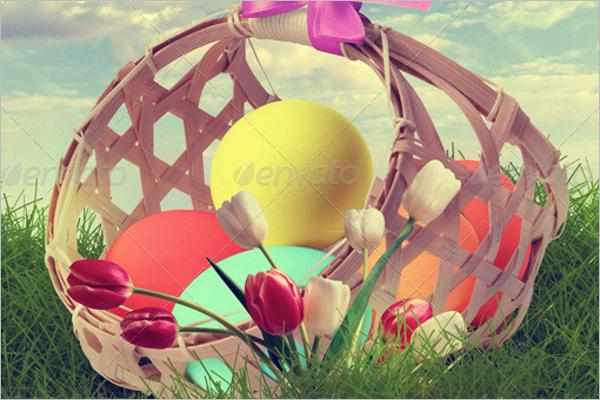 Easter Egg Hunt Print Design