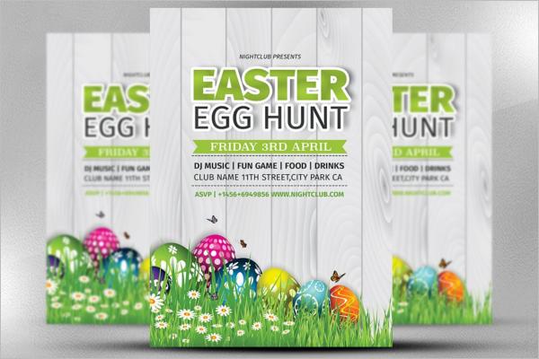 Easter Egg Hunt Template