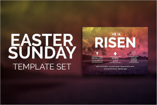 Easter Sunday Church Template