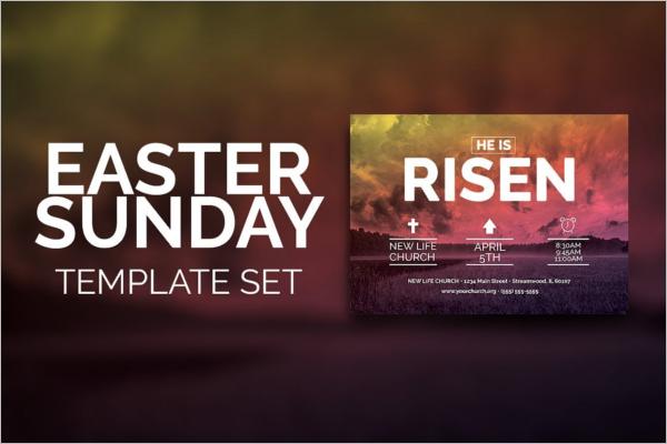 Easter Sunday Church Template