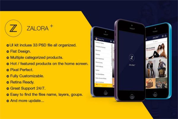 Ecommerce Shopping Retail App