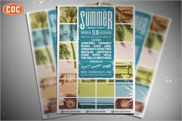 Editable Flyer Template