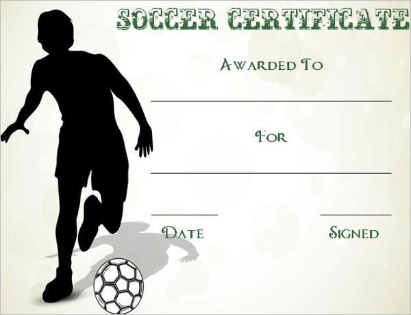 Soccer Certificate Template Word from www.creativetemplate.net