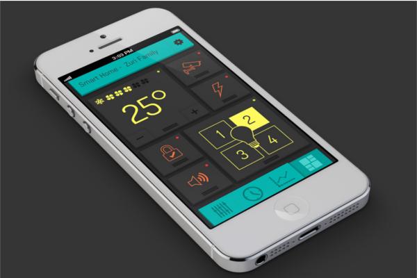 Editable UI Design Mock-Up