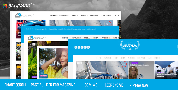 Editorial Magazine Joomla Theme