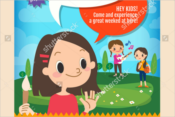 Education Summer Camp Flyer Template