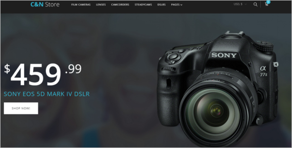 Electronic Devices WooCommerce Template