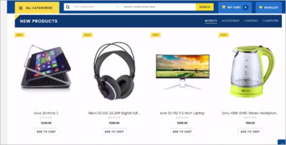 Electronic Store Magento Theme