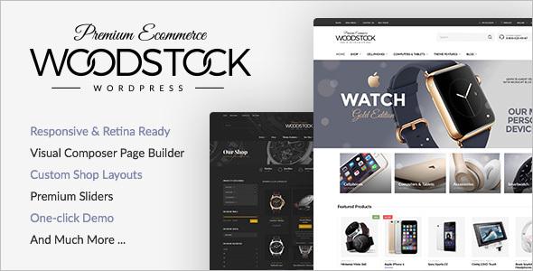 Electronics Responsive WooCommerce Theme