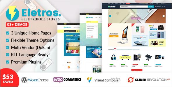 Electronics Store WooCommerce Template