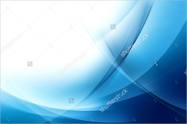 Elegant Blue Wave Background