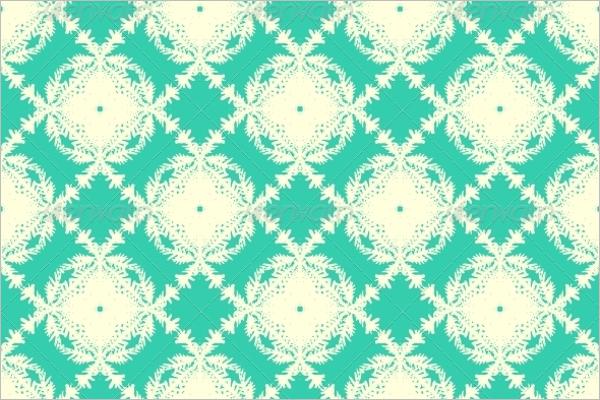 Elegant Tropical Vector Pattern