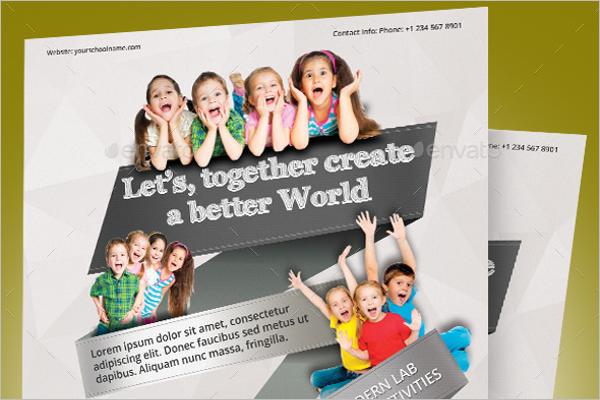 Elementary School Flyer