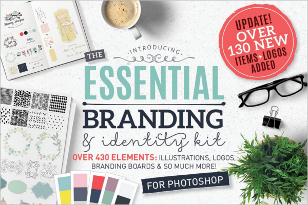 Essential Branding Photoshop Logo Template