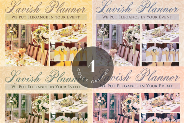 Event Cattering Planner Flyer Template