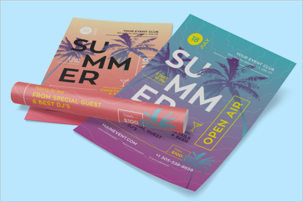 Event Club Flyer Design