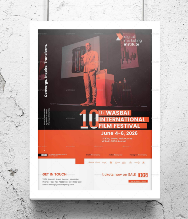 Event Poster Design Template