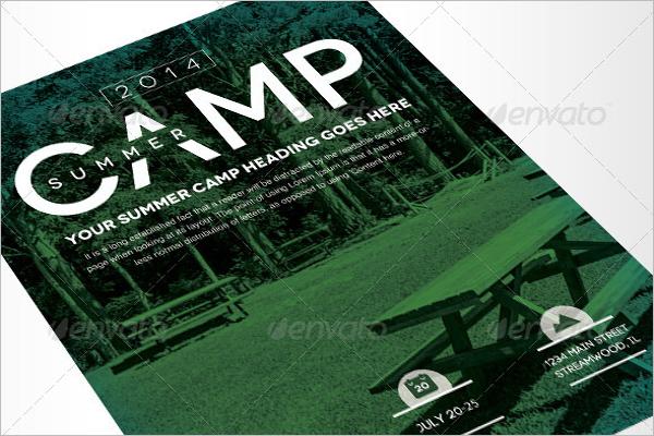 Event Summer Camp Flyer
