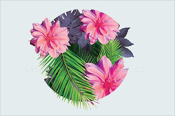 Exotic Flower Pattern
