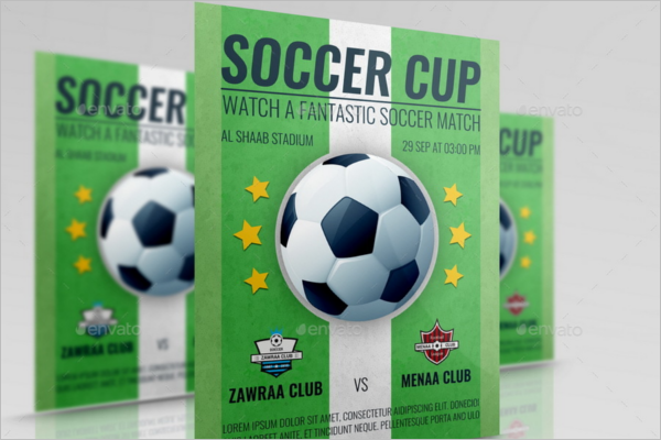 Fantastic Soccer Flyer Template