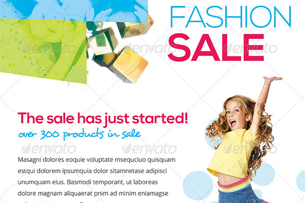 Fashion Daycare Flyer Template