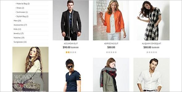 Fashion Designer Opencart Theme