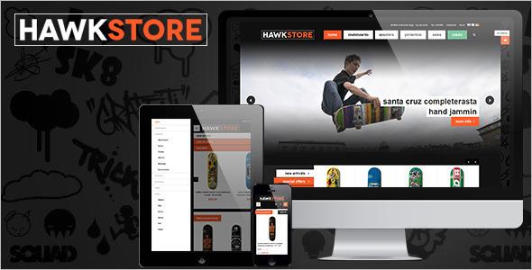 Fashion E-commerce Magento Template