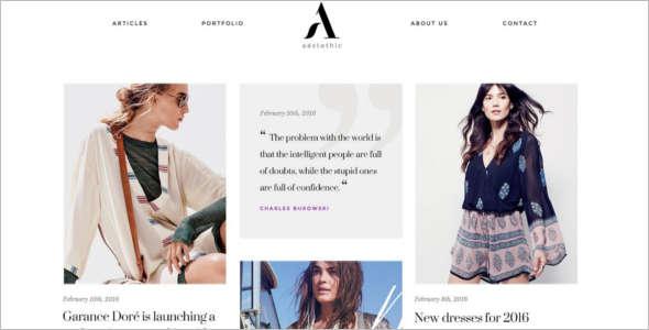Fashion Help Desk WordPress Theme