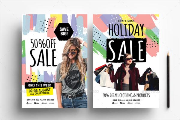 Fashion Sale Poster Design