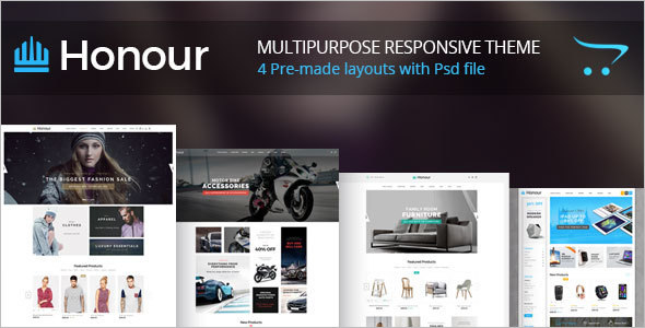 Fashionable Furniture OpenCart Template