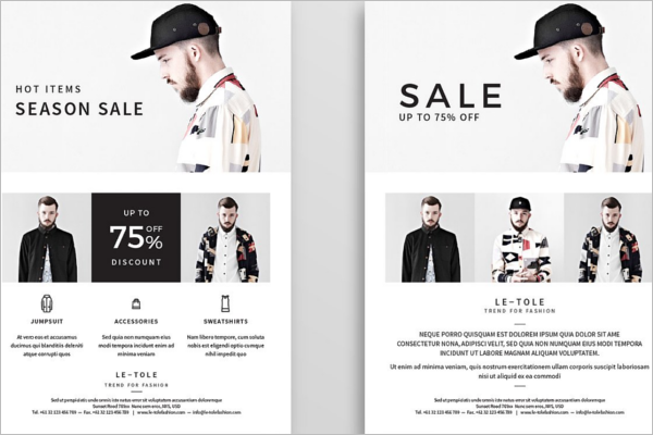 Fastion Product Flyer Design