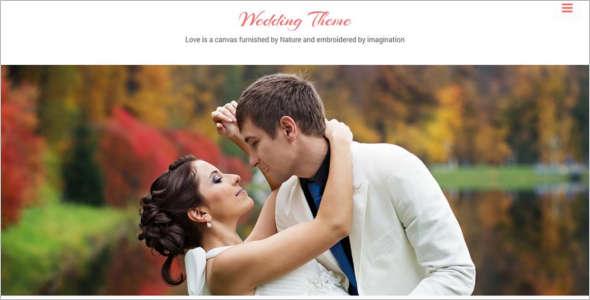 Femine New Wedding HTML Template