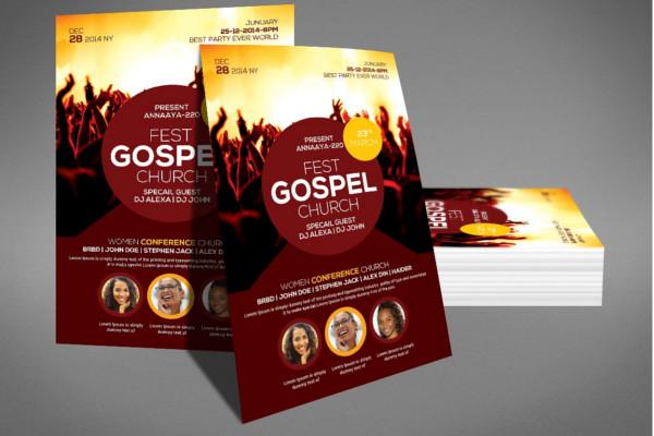 Fest Church Flyer Template