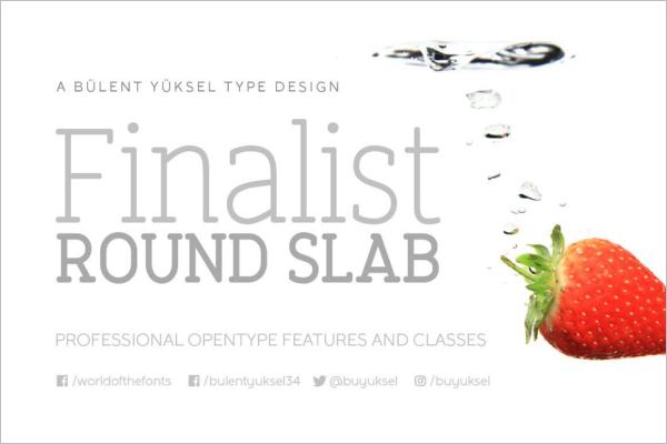 Finalist Futuristic Decorative Font