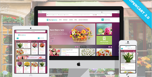 Floral Opencart Theme