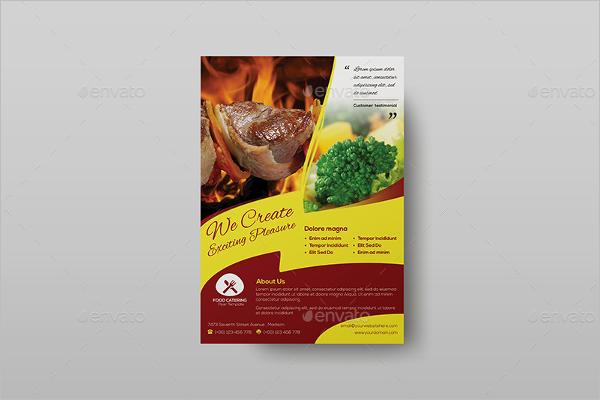 Catering Flyer Insssrenterprisesco - Catering brochure templates