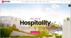 Food & Hospitality WordPress Templates