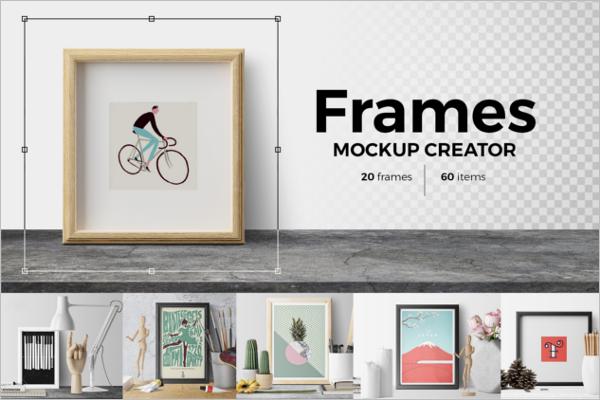 Frame Creative Poster Design