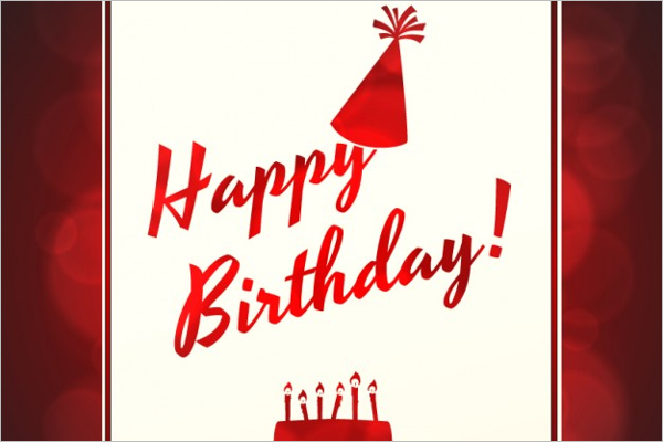 Free Birthday Poster Design