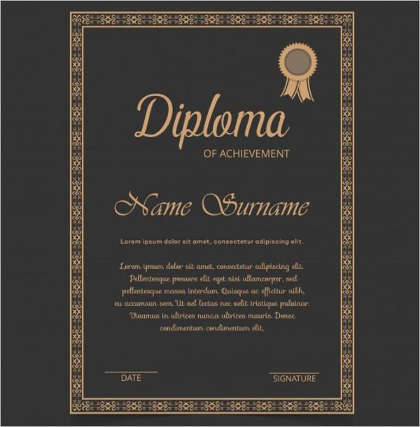 Free Blank Certificate Template