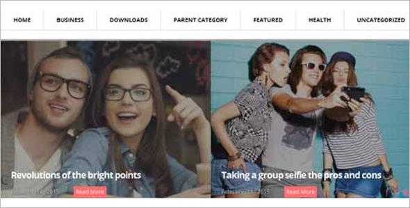Free Blog Platform Template