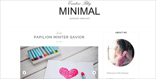 Free Blog Template Effect