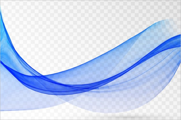 Free Blue Wave Vector