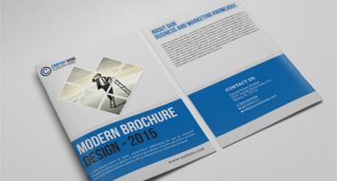 Free Brochure PSD Design
