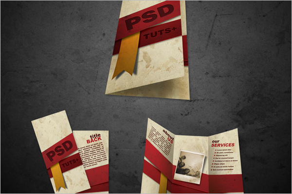 Free Brochure Template Design