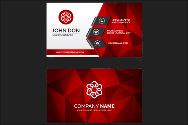 Free Business Card Vector Design
