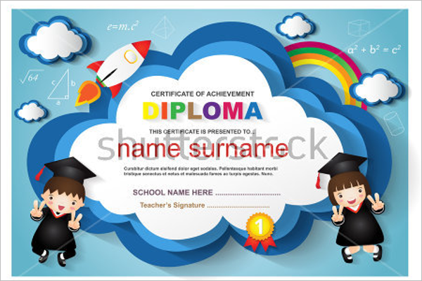 Free Certificate For Kids