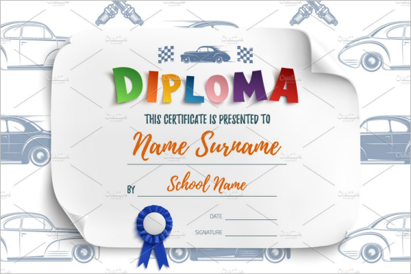 Free Certificates for Kids