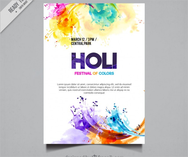 Free Colorful Poster Design
