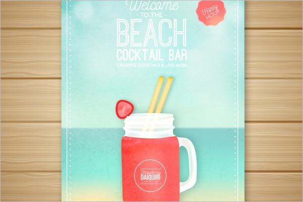 Free Beach Flyer Template